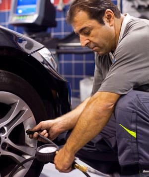 Presión correcta del neumático