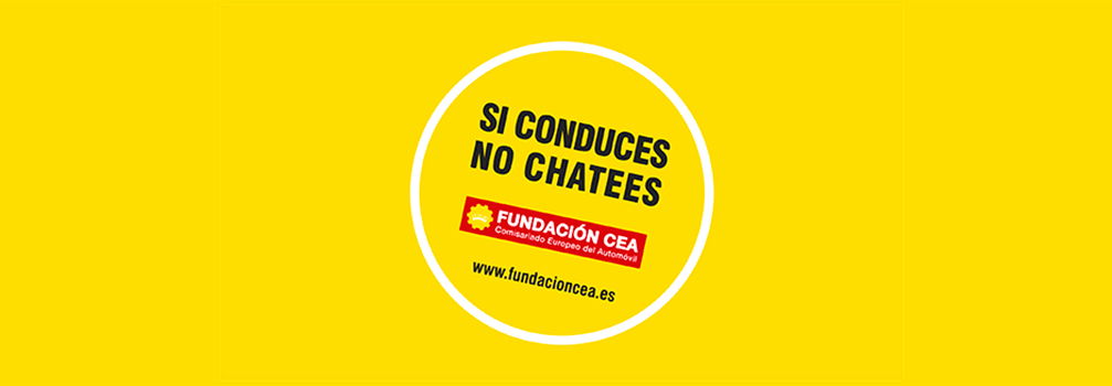 slide si conduces no chatees sv
